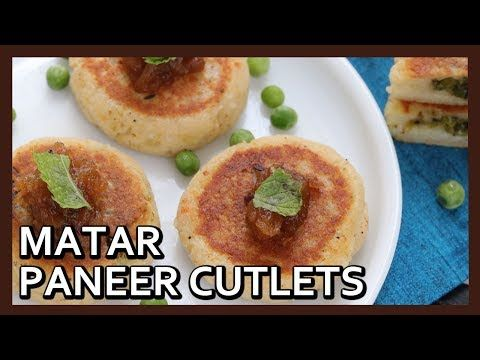 Love a good video? Plug in for this one. Crispy Matar Paneer Tikki | Paneer Cutlet | Easy Starter | Snack Recipe by Healthy Kadai https://youtube.com/watch?v=SlgYhfotkus