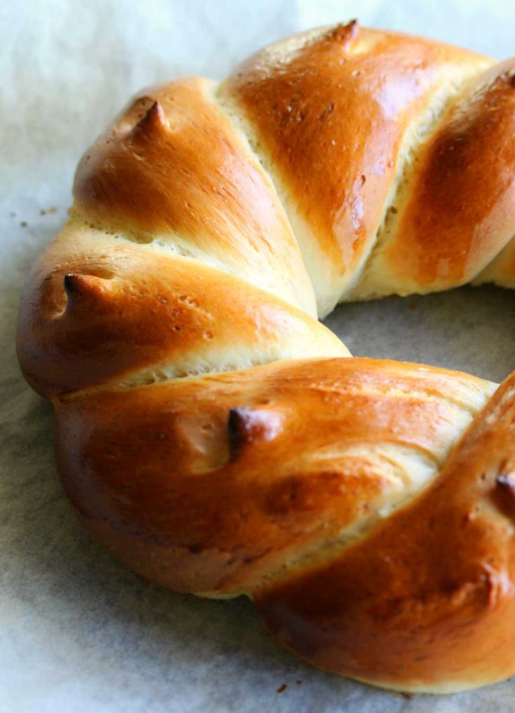 Swiss Butter Bread Braid - Cooking with Tenina