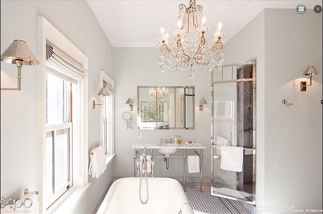 Katie Lee Joel's bathroom designed by Nate Berkus