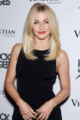 """This June 6, 2012, photo shows actress and singer Julianne Hough at a screening of the New Line Cinema film """"Rock of Ages,"""" at the Sunshine Landmark, in New York."""