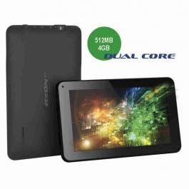 "Tablet X-72 Dual Core 512Mb/4Gb Zeeon Veličina 7"" OS Android 4.2 Jelly Bean Ekran: kapacitivni 5 tačaka, 800x480 CPU Dual Core Cortex A9 1 GHz Grafički koprocesor MALI 400MP2(dual core) RAM 512 MB Interna FLASH memorija 4GB Podržava eksternu mikro SD karticu do 32GB Podržava određene modele eksternih USB 3G modema domaćih operatera"