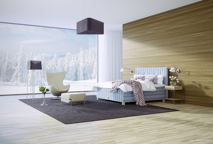 3D visualization - Saffron Bed Phantasia