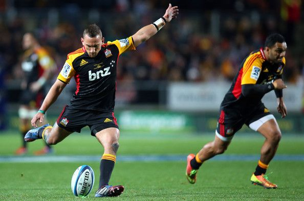 Aaron Cruden - Super Rugby Final - Chiefs v Brumbies