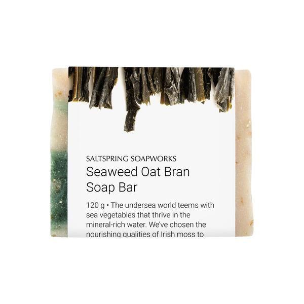 Seaweed Oat Bran Soap Bar