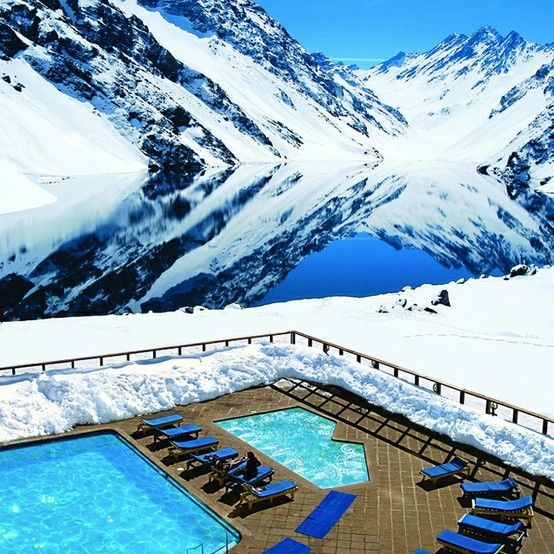 Portillo Ski Resort, Chile....ah yes, I remember.  This WAS to be our 25th wedding anniversary gift....until I tore my mcl/acl skiing:-(