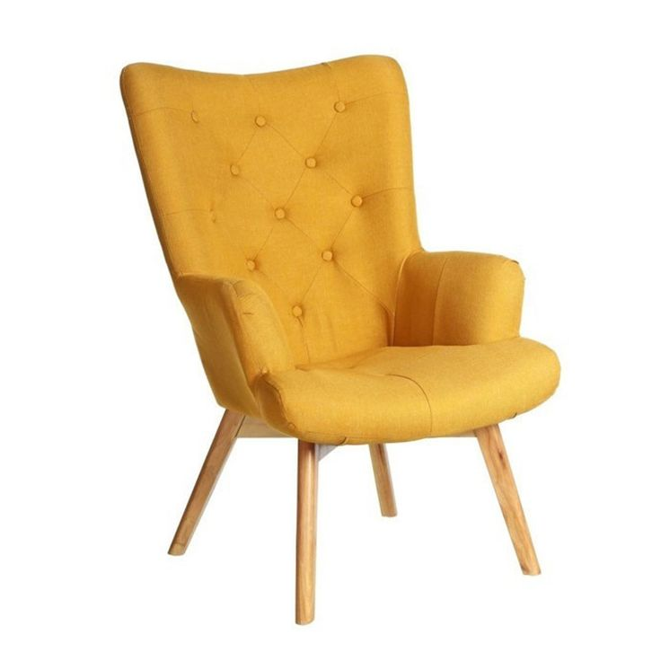 les 25 meilleures id es de la cat gorie fauteuil jaune moutarde sur pinterest fauteuil. Black Bedroom Furniture Sets. Home Design Ideas