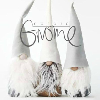 Quirky handmade Scandinavian Gnomes by Nordic Gnome.
