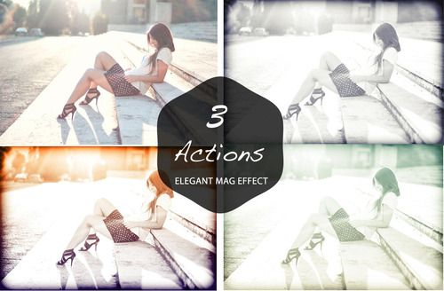 Free Elegant Fashion Mag Effect Actions  Elegant Fashion Mag Effect Actions is a set of 3 Actions Effect which can be used in any images and it will be good for fashion magazine, mobile photography etc.  :: VISIT DOWNLOAD PAGE ::