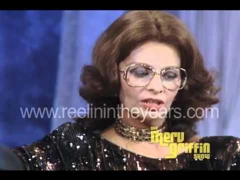 Sophia Loren interview (Merv Griffin Show 1984) - YouTube