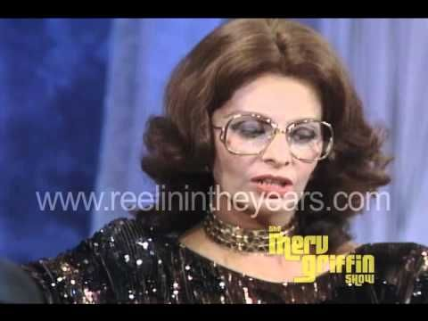 Sophia Loren interview (Merv Griffin Show 1984)