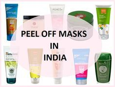 peel off masks in India