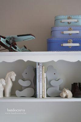 Macis könyvtámasz átfestése dekor paint softtal - PURE DESIGN #pentart