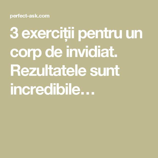 3 exerciții pentru un corp de invidiat. Rezultatele sunt incredibile…