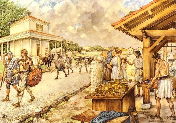 3) De groei van het Romeinse imperium waardoor de Grieks-Romeinse cultuur zich in Europa verspreidde
