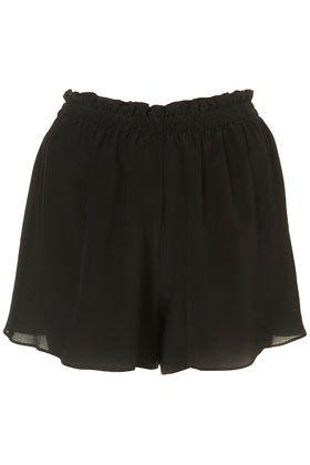 silk shorts // boutique