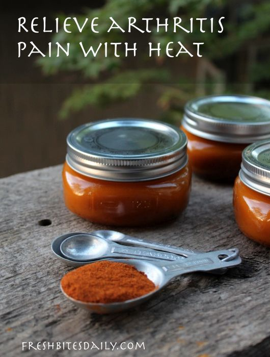 A super-hot salve to tame your arthritis pain