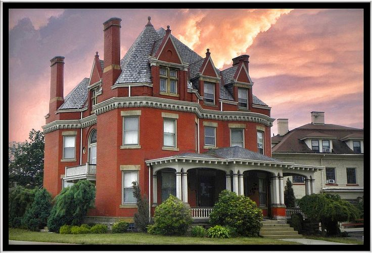 Edwin Ohl House 1899 New Castle Pa Historical House Flickr
