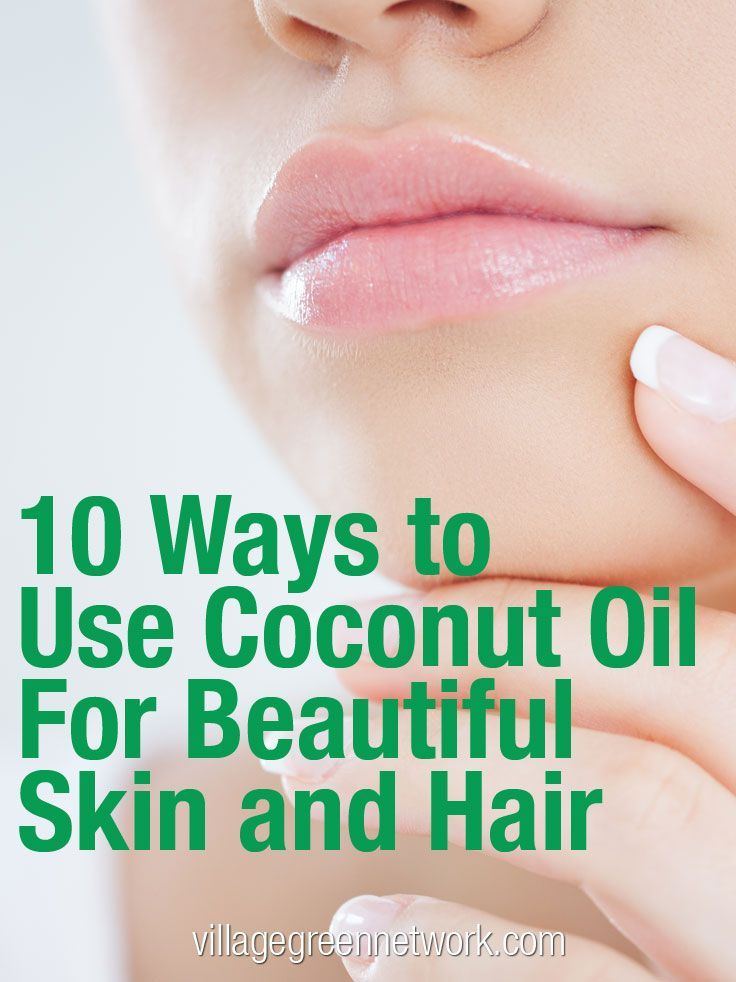 Best Ways to use Coconut oil for skin and hair. Beauty tips using coconut oil.