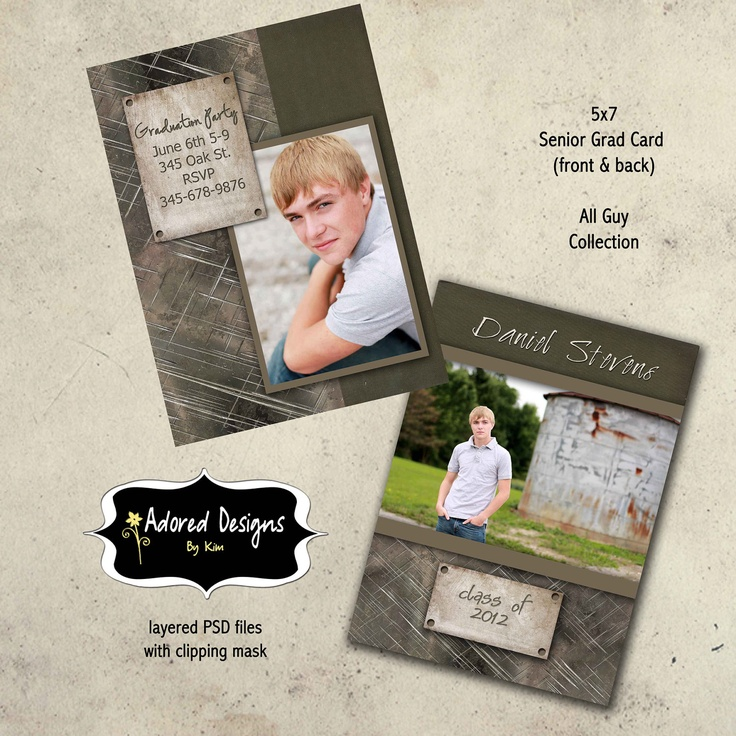 96 best images about senior graduation announcements card for Free senior templates for photoshop
