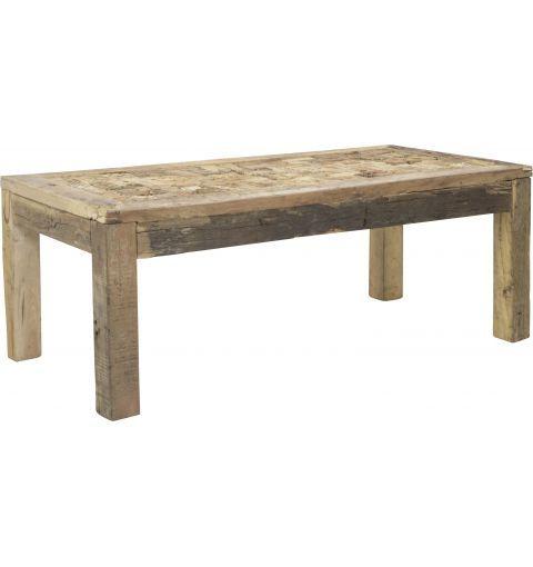 Anju Wood Coffee Table, Rustic