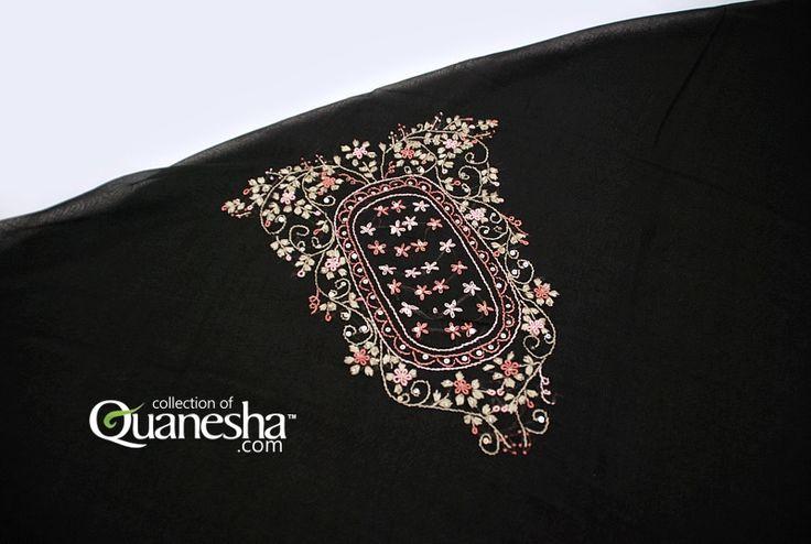 Sulam Atas Mahkota Modern Etnik Motif | SA-ME |  Quanesha.com | Butik Jilbab Cantik dan Kerudung Paris