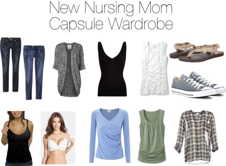 New Nursing Mom Capsule Wardrobe