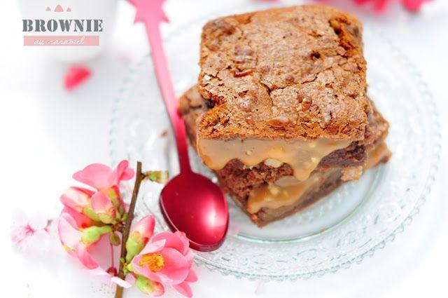 ♥ Brownie chocolat au lait & caramel au beurre salé … Concours inside ♥ | Stephatable
