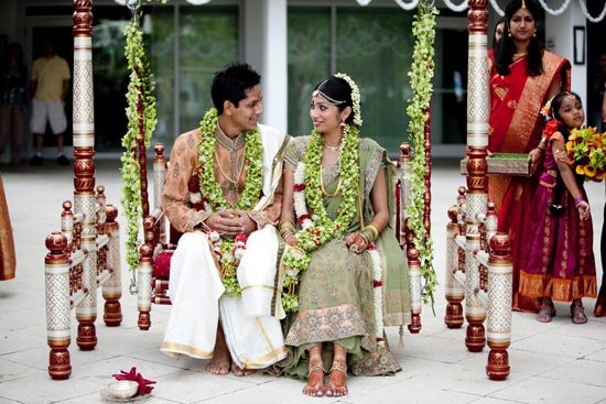 SOUTH INDIAN WEDDING - SWING CEREMONY :South Asian Bride Magazine
