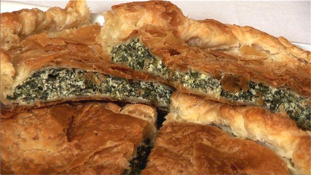 Spinach and Ricotta Tart (Torta rustica con spinaci e ricotta)