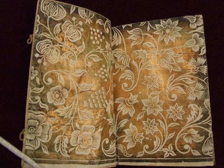 Dutch gilt paste paper