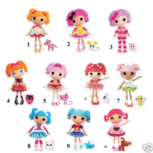 "Lalaloopsy Removable Wall Decal Stickers 10"" Inches Tall Choose 1 Character ..."