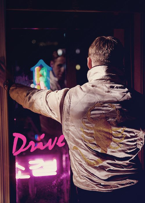 Ryan Gosling , Drive One of the best movies I've ever seen, period.