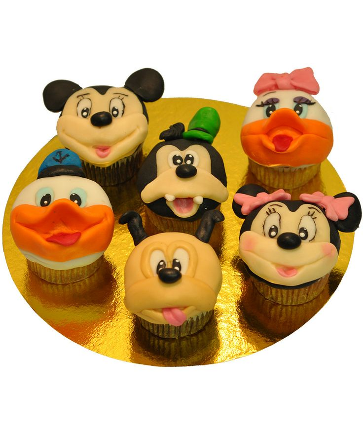 Cupcake Mickey's Club House