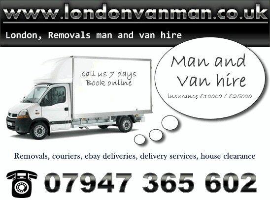 Van Man London North, East, South, West