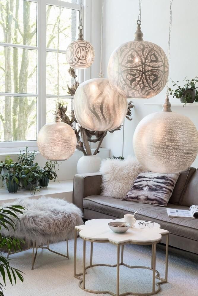 Special Offer Any 2 Meduim Brass Hanging Lamps Arabic Style Hanging Lamp Moroccan Lamp Middle Interior Design Wallpaper Living Room Matching Furniture