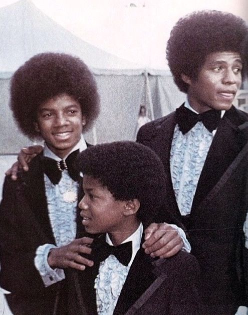 Michael Jackson, Jackie, and Randy - Jackson 5 Era