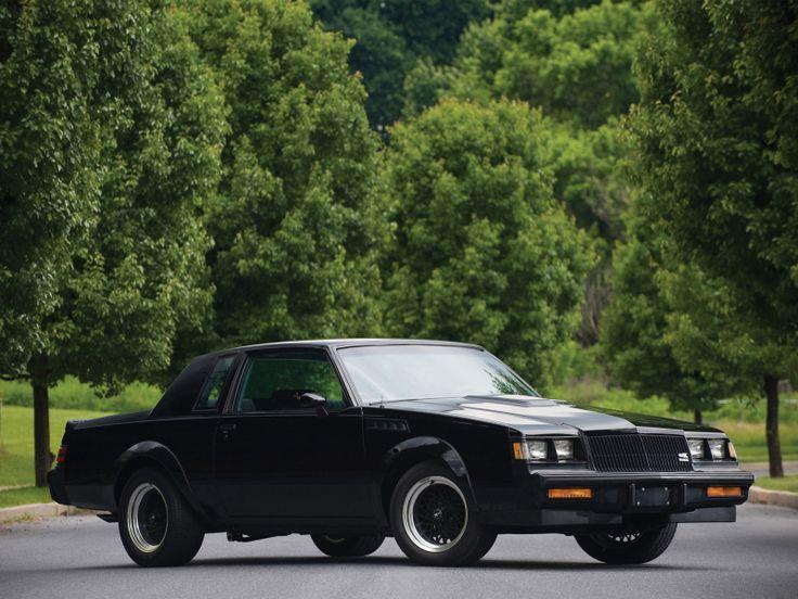 1987 Buick Regal Grand National GNX