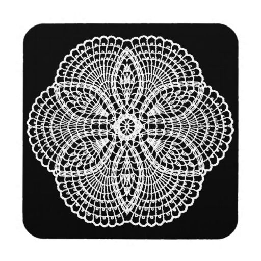 Doily Art Drink Coasters