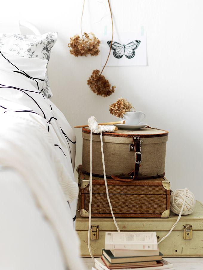 koffers slaapkamer - ThePerfectYou.nl Leuk als nachtkastje