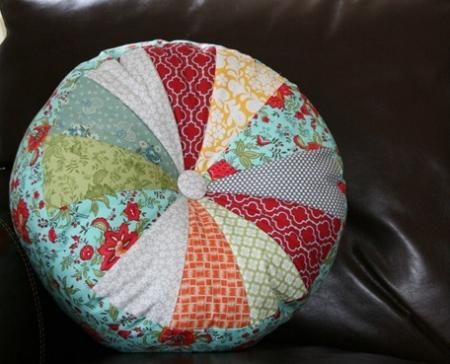 Учимся шить декоративные подушки