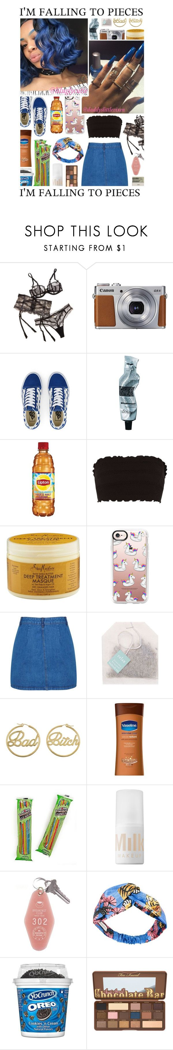 """""""Rick & Morty is my sh.it"""" by liluglycutie ❤ liked on Polyvore featuring Chantelle, Canon, Vans, Aesop, SheaMoisture, Casetify, Miss Selfridge, Paper Source, me you and Jack Spade"""