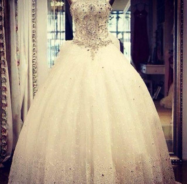 Ballroom embellished wedding dresses pinterest
