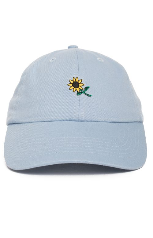 in bloom, Sunflower Strap-Back Hat - Blue - in bloom - MOOSE Limited
