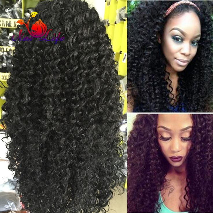 7A Glueless Synthetic Lace Front Wig For Black Women Kinky Curly Front Lace Wig Synthetic Heat Resistant Fiber Hair Wigs Stock
