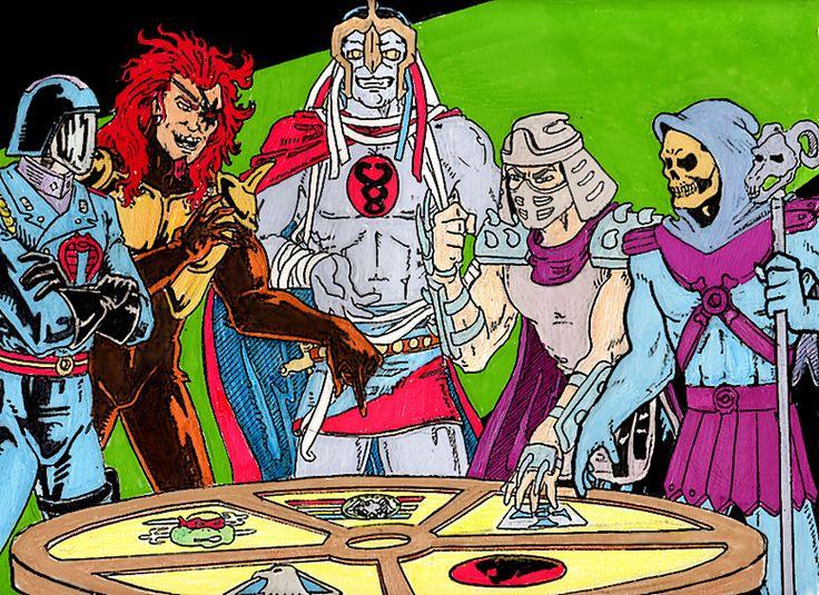 Cobra Commander (GI Joe), Monstar (Silverhawks), Mumm-Ra ...
