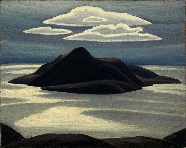 Pic Island, Lake Superior, by the Group of Seven Painter Lawren Harris.