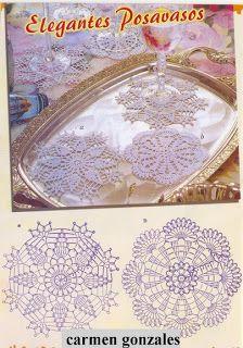 Crochet doilies