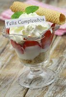 """Feliz cumpleaños!"" is Spanish for ""Happy birthday!"""