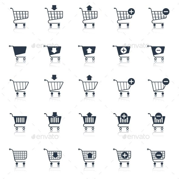 Shopping Cart Icons Black   Buy and Download: http://graphicriver.net/item/shopping-cart-icons-black/8898843?WT.ac=category_thumb&WT.z_author=macrovector&ref=ksioks