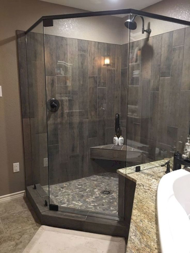Bathroom Renovation Ideas Remodeling A Bathroom Averages 60 65 Return On Investment Some Bathroom Remodel Master Farmhouse Shower Bathroom Remodel Shower